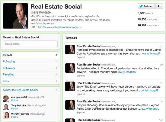 Real Estate Social @erealestate_