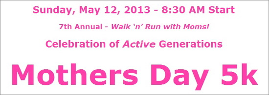 Mothers Day 5K